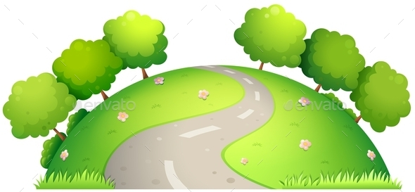 GraphicRiver Road and Nature 11020102