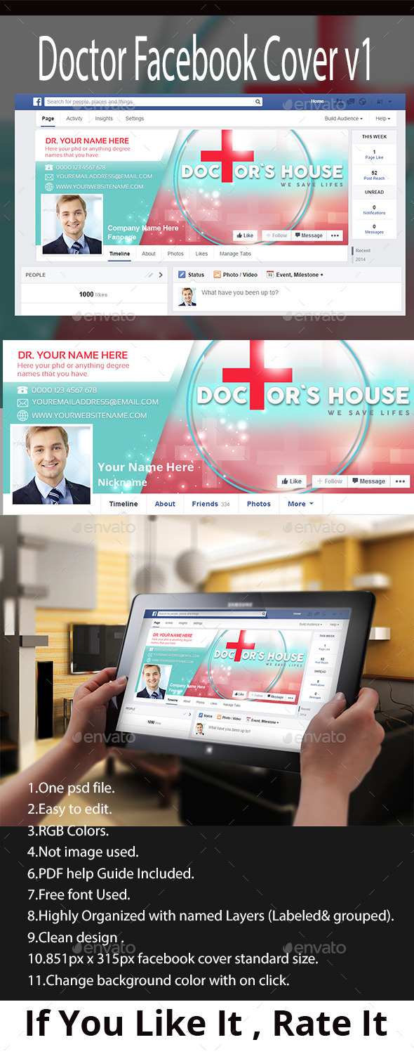 GraphicRiver Doctor FacebookTimeline Cover v1 11020424