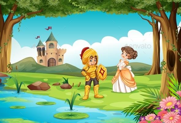 GraphicRiver Castle 11020427