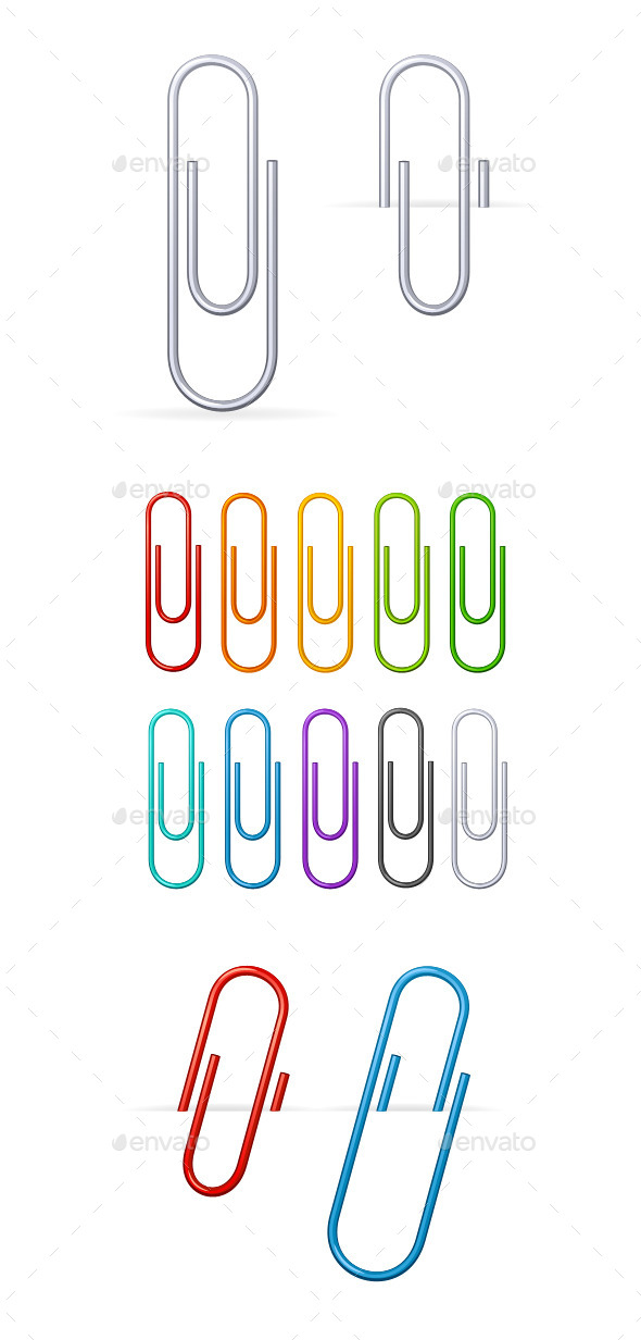 GraphicRiver Clips Set 11020534