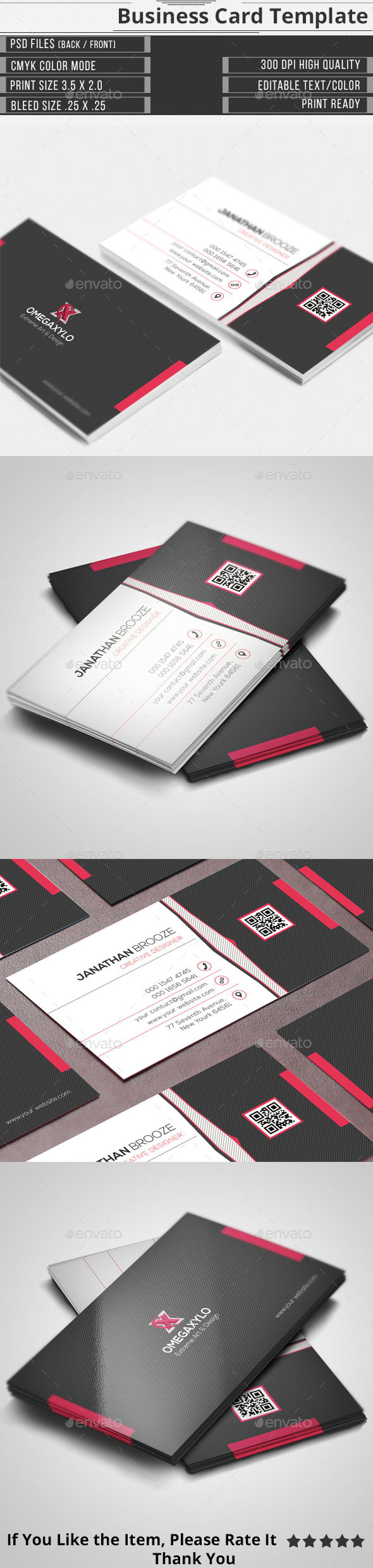 GraphicRiver Corporate Business Card 11020778