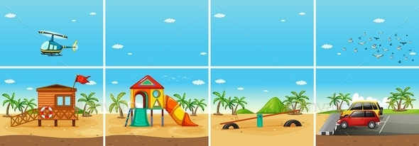 GraphicRiver Beach 11020796