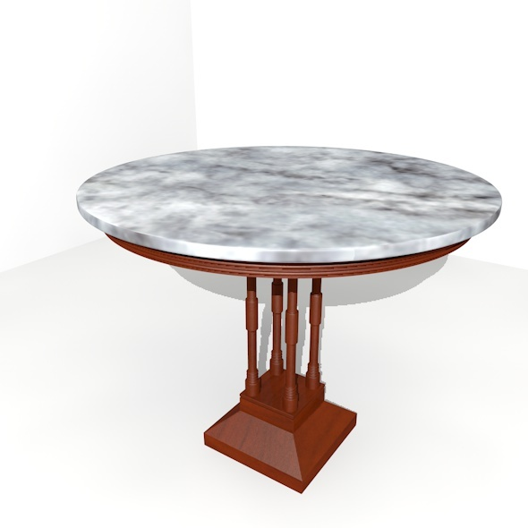 3DOcean Side Table 11020802