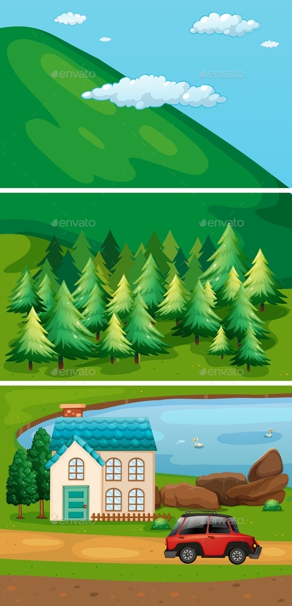 GraphicRiver Hills 11021626