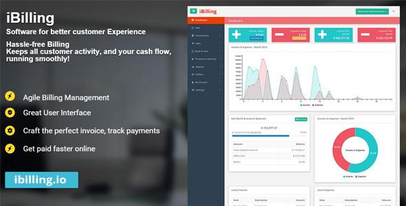 CodeCanyon iBilling Accounting and Billing Software 11021678