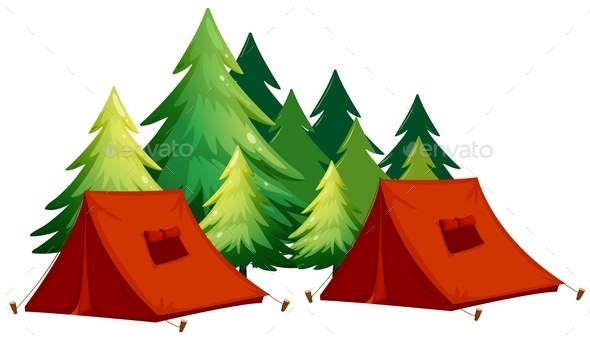 GraphicRiver Tents 11021798