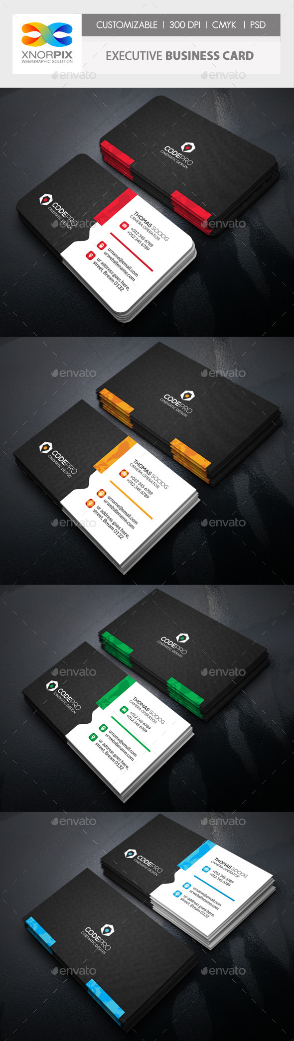 GraphicRiver Motion Business Card 11022027