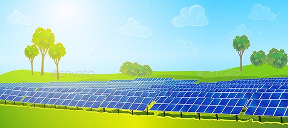 GraphicRiver Modern Solar Panels 11022270