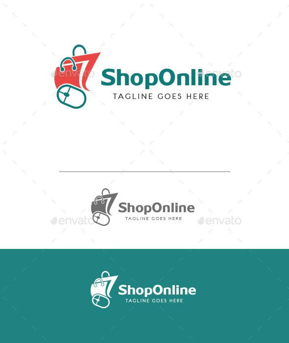 GraphicRiver Online Shop Logo 11022464