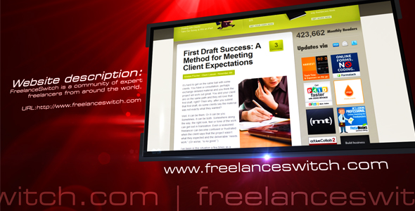 After Effects Project - VideoHive Website Corporate V2 Eden 136589