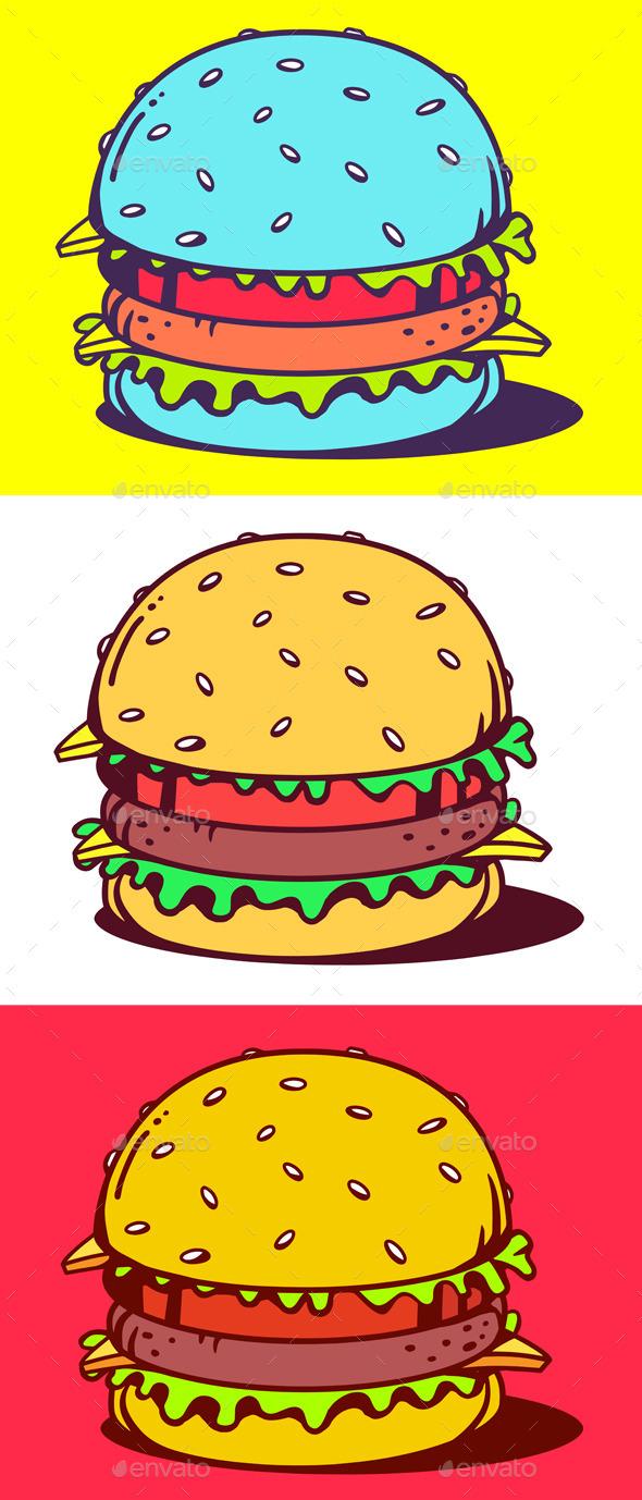 GraphicRiver Classic Burger 11022764