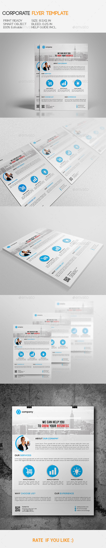 GraphicRiver Corporate Flyer 11022842