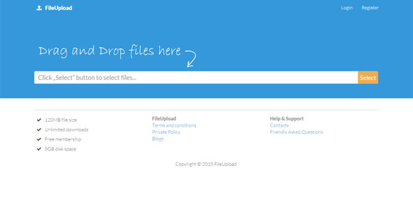 CodeCanyon FileUpload 11022918
