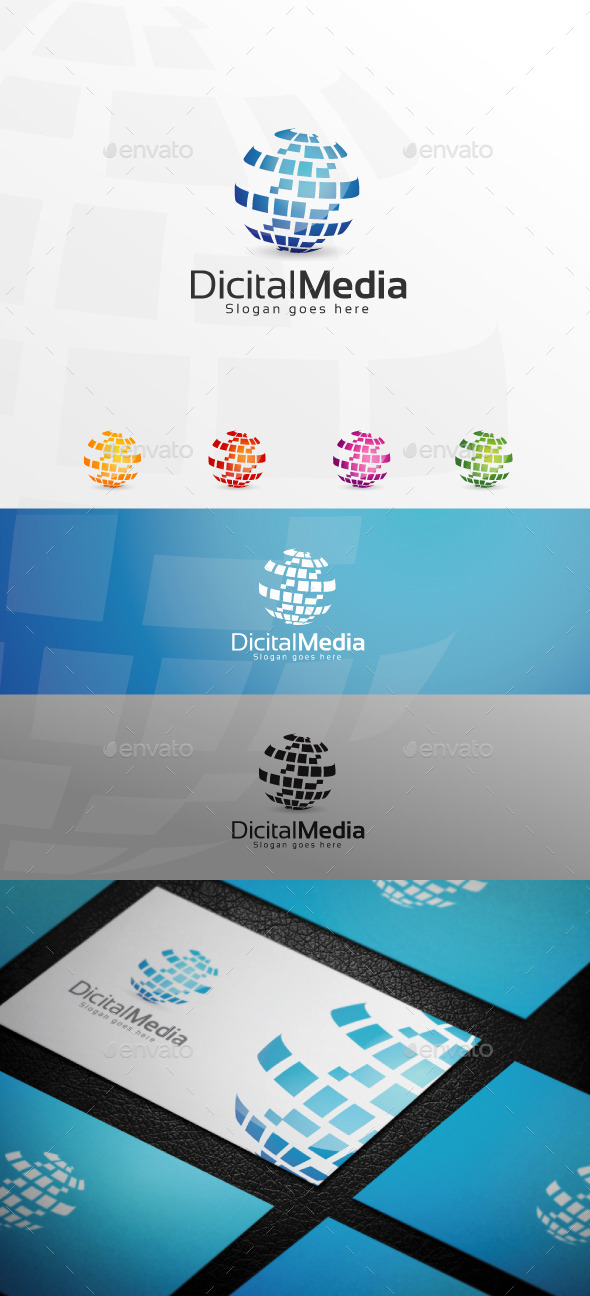 GraphicRiver Dicital Media Logo 11023190