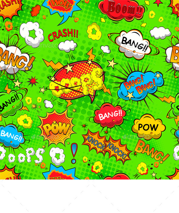 GraphicRiver Comic Speech Bubbles 11023491