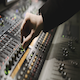 Working on audio mixer - VideoHive Item for Sale