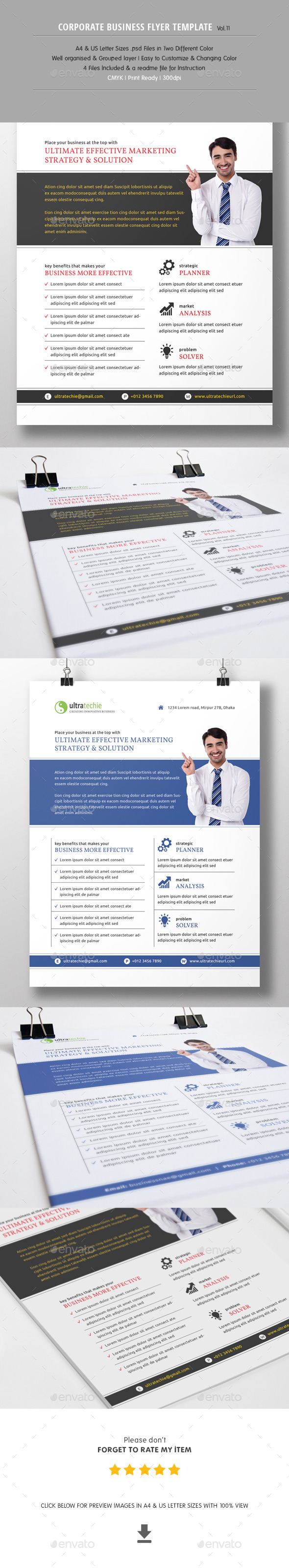 GraphicRiver Corporate Business Flyer Vol.11 10960805