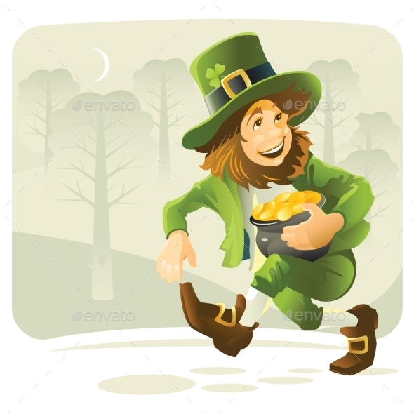 GraphicRiver Leprechaun 11024758