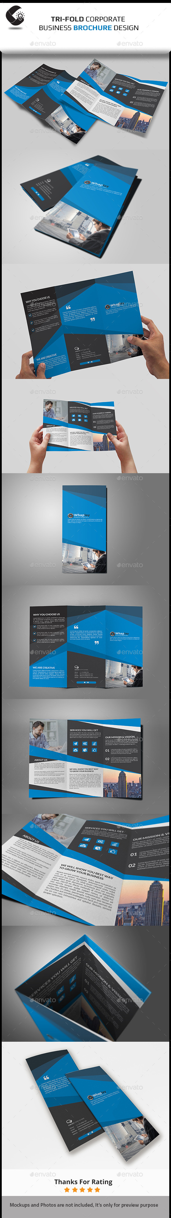 GraphicRiver Tri-Fold Brochure 11024927