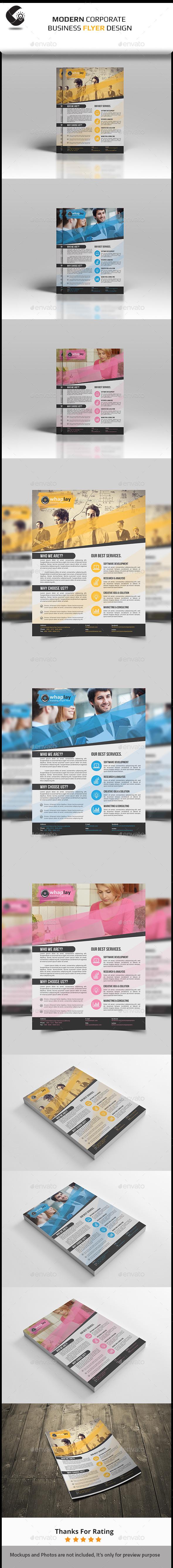 GraphicRiver Corporate Flyer-Multipurpose 11025078