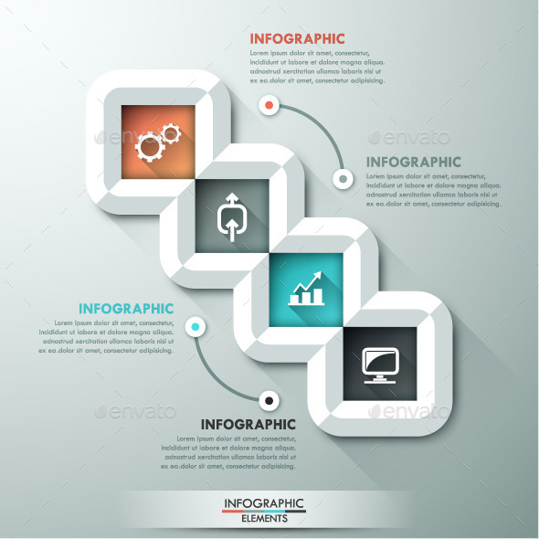 GraphicRiver Abstract Infographic Template 11025079