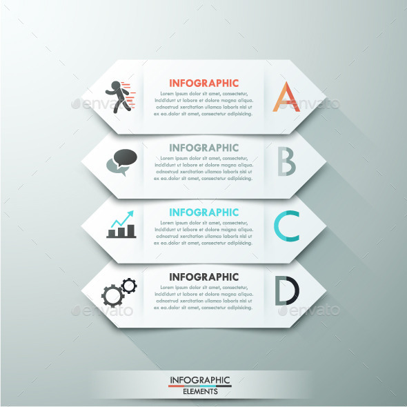 GraphicRiver Modern Infographic Paper Template 11025089