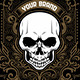 Skull & ornament theme Tshirt Design - GraphicRiver Item for Sale