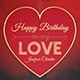 Birthday Card / Greetings Card for Love One - GraphicRiver Item for Sale