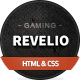 Revelio - The Gaming Template HTML - Technology Site Templates