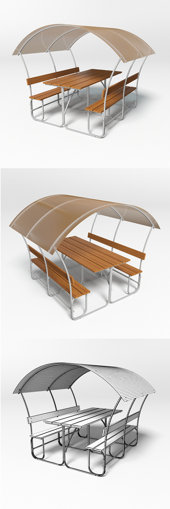 Gazebo 10 - 3DOcean Item for Sale