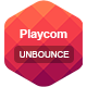 Playcom - Unbounce Template - ThemeForest Item for Sale