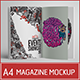 A4 Magazine Mockup - GraphicRiver Item for Sale