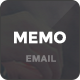 Memo - Responsive Email Template + Online Editor - ThemeForest Item for Sale