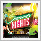 Spring Summer Latin Nights  - GraphicRiver Item for Sale