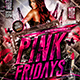 Flyer Pink Fridays Konnekt - GraphicRiver Item for Sale