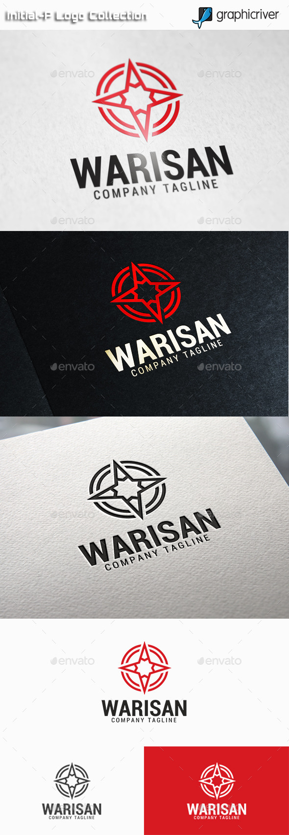 GraphicRiver Warisan Star Circle Logo 11025913