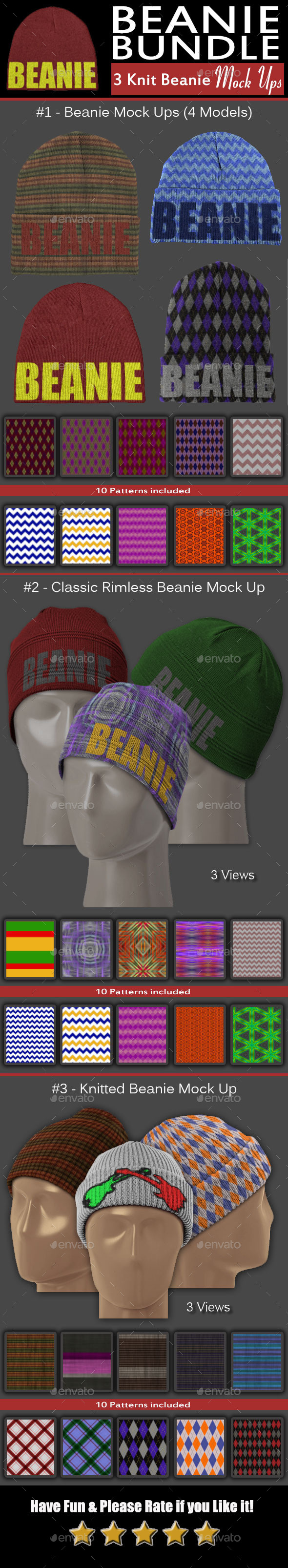 GraphicRiver Complete Headwear Bundle 11025914