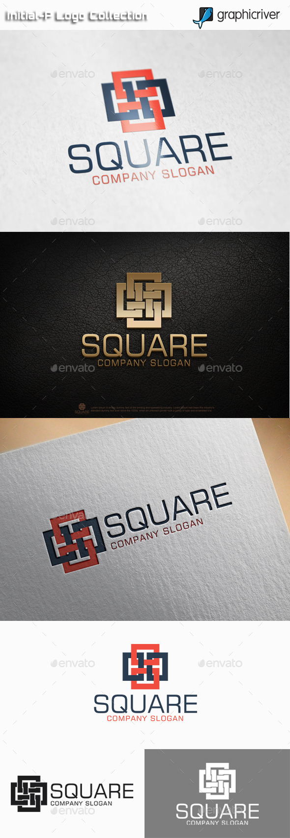 GraphicRiver Square Logo 11026014