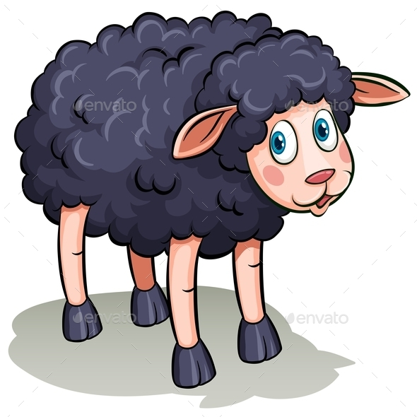 GraphicRiver A Black Sheep 11026246