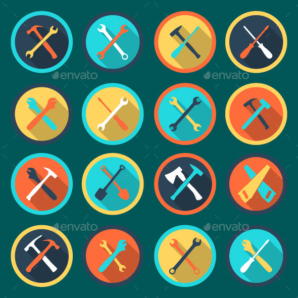 GraphicRiver Tool Icons 11026508