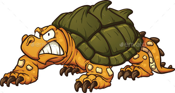 GraphicRiver Snapping Turtle 11026523