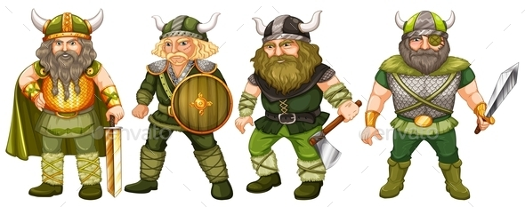 GraphicRiver Vikings 11026597