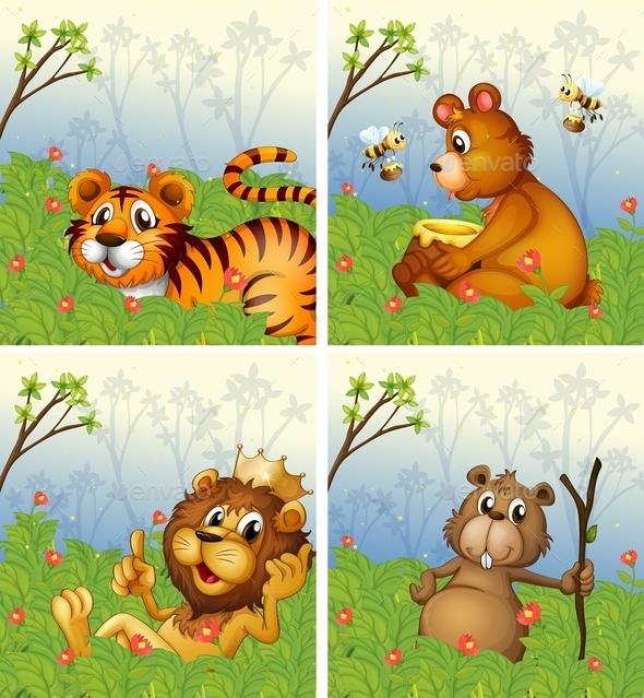 GraphicRiver Animals 11026603