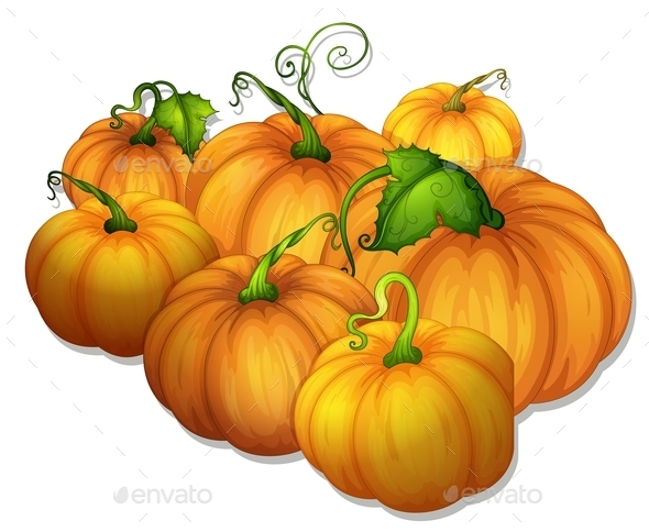 GraphicRiver Pumpkins 11026720