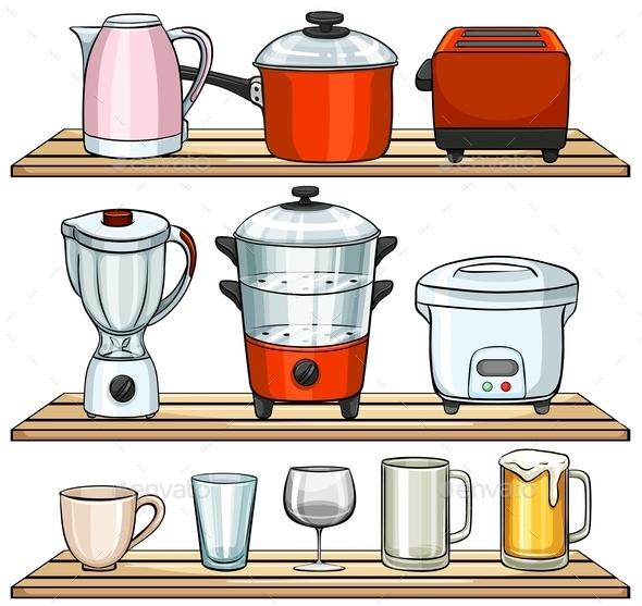 GraphicRiver Kitchen Appliances 11026937