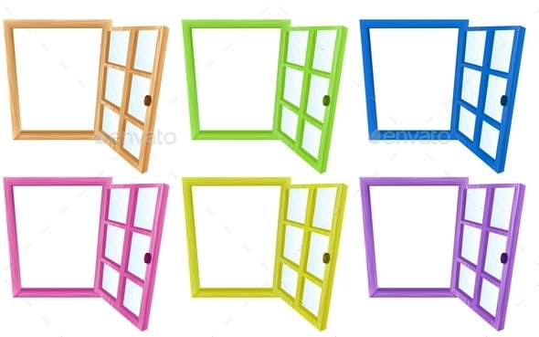 GraphicRiver Window Frames 11027395