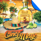 Cinco De Mayo Beach Party Flyer Template - GraphicRiver Item for Sale