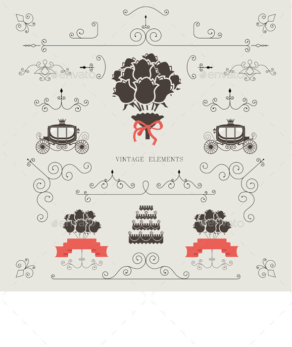 GraphicRiver Wedding Invitation 11027749