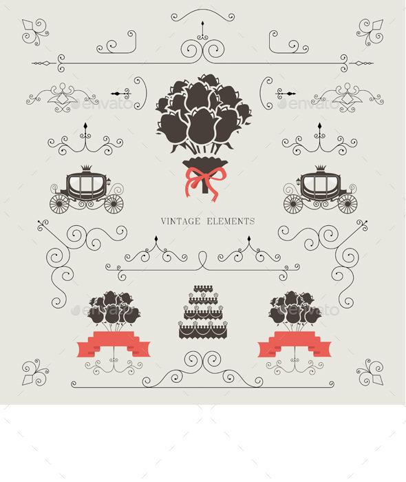 GraphicRiver Wedding Invitation 11027749