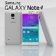 Samsung Galaxy Note 4 Frosted White - 3DOcean Item for Sale
